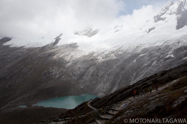 ペルー・ワスカラン国立公園のサンタクルーズとレック